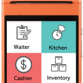 eWaiter, eKitchen and Customer Self Ordering