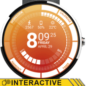 Venom Watch Face & Clock Widget