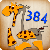 384 Puzzles for Preschool Kids